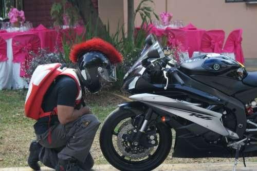 Go Back  gt  Gallery For  gt  Pink Mohawk Motorcycle HelmetPink Mohawk Helmet
